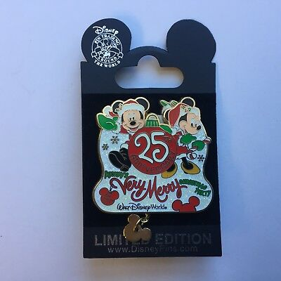 WDW Mickey's Very Merry Christmas Party 2008 - 25th Anniversary Disney Pin 66333