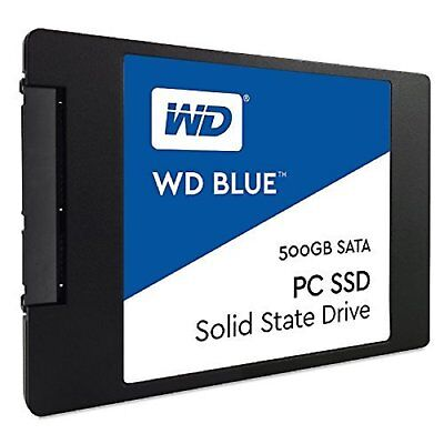 "Western Digital SSD Blue 500GB 2.5"" 7mm 545MB/s Read Solid State Drive New AU"