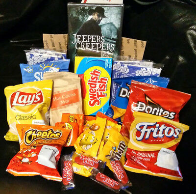 Scary Horror Movie Night Gift Basket Care Package