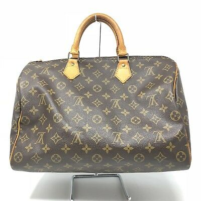 Louis Vuitton Vintage 1990 Monogram Speedy 35 Authentic Original Lock and  Key 8a906feb5e