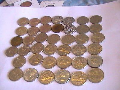 Canada Nickel 40+ Coins All Over 50 Years Old Most Over 60