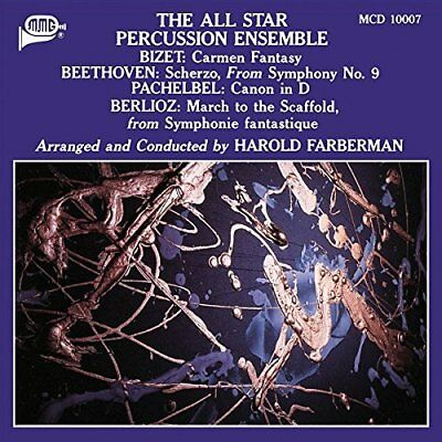 The All Star Percussion Ens...-All Star Percussion Ensemble CD NEW