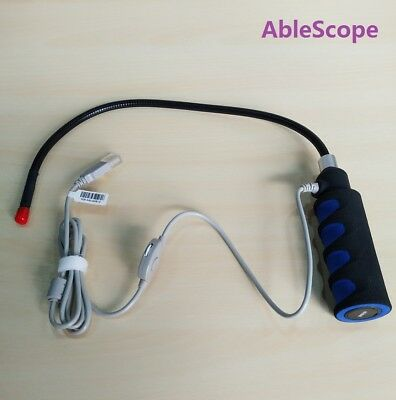 AbleScope USB Borescope Endoscope Soft Tubing DOF 40 to 400mm