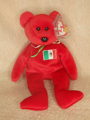 Ty Beanie Baby Osito Bear - Excellent - Free Shipping