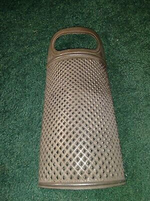 Vintage/Antique Hand Held Rounded Grater Patent Pending