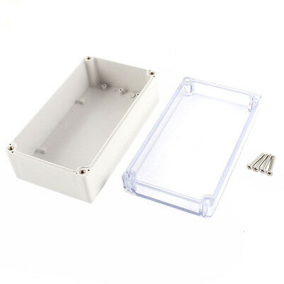 Waterproof Clear Cover Plastic Electronic Project Box 158x90x60mm N6I8