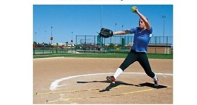 Fast Pitch Softball Pitcher's Lane Indoor / Outdoor  - 12807600 Schutt Sports