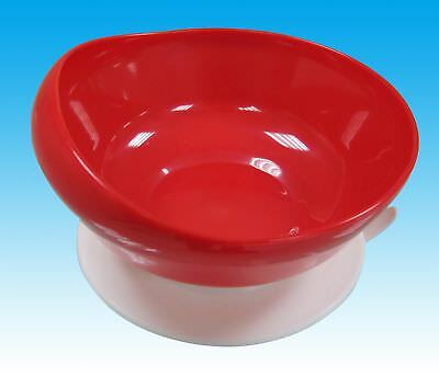 Scoop Dining Set - Red bowl, red dish/plate, red knife/fork/spoon
