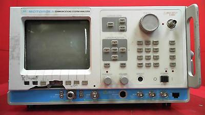 Motorola R2670A Communications System Analyzer FOR PARTS, W/ Options