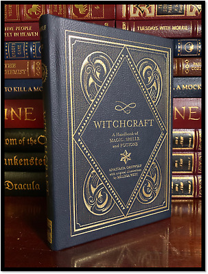 Witchcraft Handbook of Magic Spells and Potions New Deluxe Hardback with Ribbon