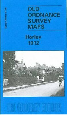 Horley 1912: Surrey Sheet 41.04 (Old Or... by Jackson, Alan A. Sheet map, folded