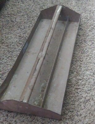 Vintage Metal Tool Box Tote Tray, Tool Caddy Succulents Planter Garden