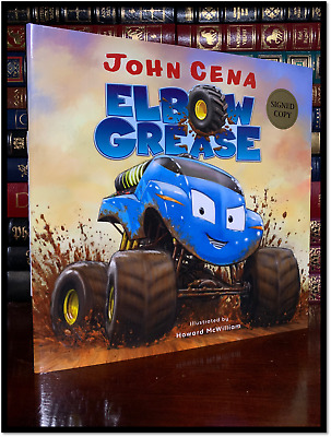 Elbow Grease ✍SIGNED✍ by JOHN CENA New Hardback 1st Edition First Printing WWA