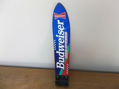 Vintage Budweiser King of Beers Water Ski Shaped Tap Handle