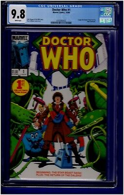 Doctor Who #1 Cgc Nm/mint 9.8 W Pages Marvel (1984)