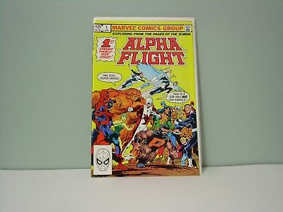 Alpha Flight #1, 1983 Marvel Comics, VF/NM