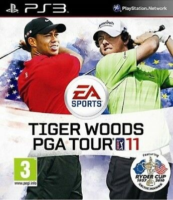 TIGER WOODS PGA TOUR 11 NEW for PS3