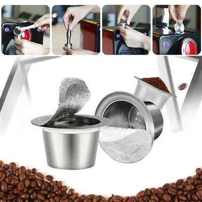 Refillable Reusable Dolce Gusto Coffee Capsules Stainless Steel Filter Seal Kit