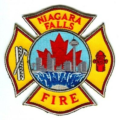 Canada ON - Niagara Falls Fire Department Patch New Style