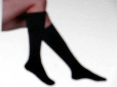 2 Pair Women's Graduated Knee High Support Stockings Size Large (10-12)