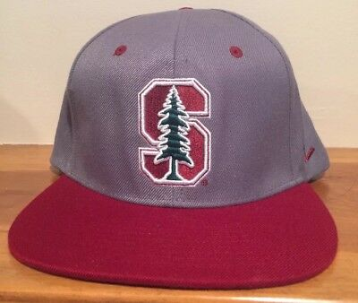 sports shoes b1db0 d4b5c Stanford Zephyr NCAA Z11 Snapback Flat brim Hat Cap Green