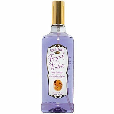 Agustin Reyes Royal Violets Baby Cologne with Aloe Vera 7.6 fl oz