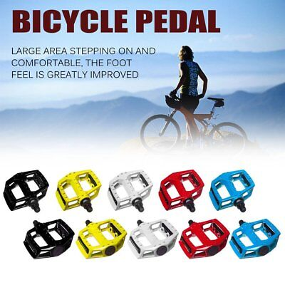 Universal Aluminum Alloy MTB Mountain Bicycle Bike Pedals Cycing Flat Pedals ZZ