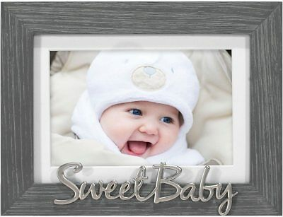 BABY FRAMES COLLECTION, 8x8-inch Photo Wood Frame for 4x4 Pictures ...