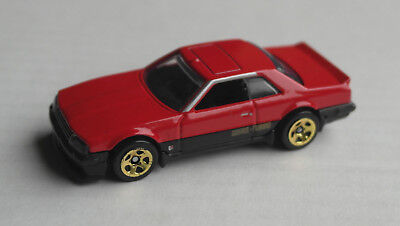 Hot Wheels 1982 Nissan Skyline R30 rot/schwarz Auto Car Mattel HW red rosso ´82