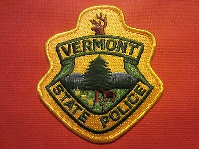 Collectible Vermont State Police Patch,New