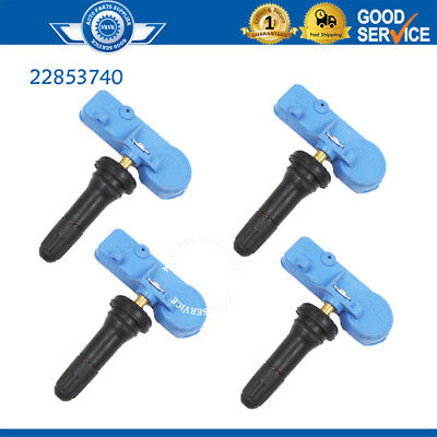 4PCS Tire Pressure Sensors 433MHZ 22853740 For Opel Buick Chevy Cadillac GMC New
