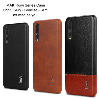Imak For Huawei P20 Pro Lite, Luxury Shockproof Concise Leather Case Cover Skin