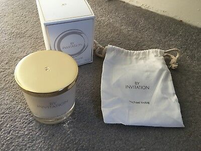 XMAS Gift MICHAEL BUBLE By Invitation Scented Candle 180g New Pouch Boxed