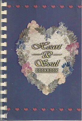 Denver Co 2001 Dencs The Giving Fund Cook Book Heart & Soul * Airline Employees