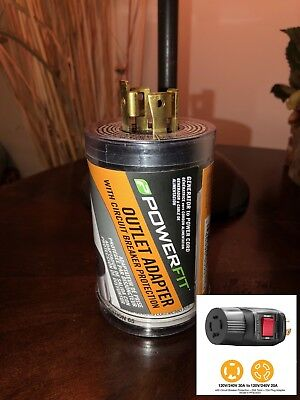 New 50 Amp 220 Volt 3 Prong Plug Replacement Electrical Rv Welder