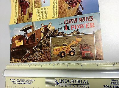 International Harvester Brochure for Earth Mover Machines