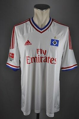 HSV Hamburg SV Trikot #23 Rajkovic Gr. XL 2011-12 Adidas Shirt Fly Emirates