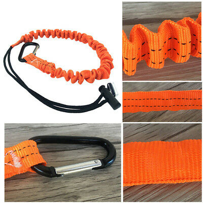 Durable Carabiner Retractable Safety Rope Telescopic Elastic Climbing Kind
