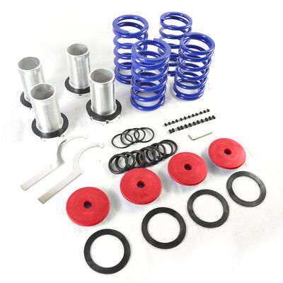 New Adjustable Lowering Coilover Coil Spring Kits for Honda 98-02 Accord Red