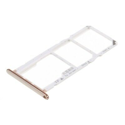 OEM Dual SIM Card + Micro SD Card Tray Holders Repair Part for Huawei Y6
