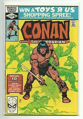(1970) Marvel Conan The Barbarian #115 - Red Sonja Appearance - High Grade Nm