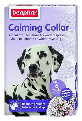 Beaphar Calming Collar for Dogs, fireworks,travelling,anxiety,behaviour,