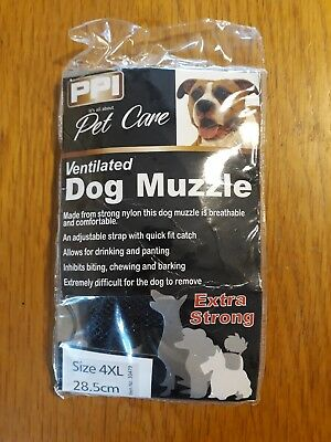 PPI Pet Care Muzzle Size 4XL, 28.5cm, new and unopened