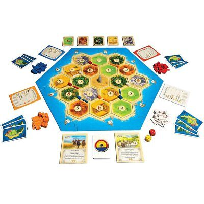 Catan Board Game Family Fun Playing Card Game Educational Theme Cards Game ZZ