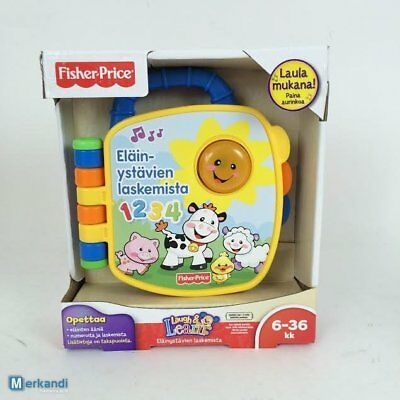 Mattel Fisher Price Lernbuch Learningbook Finish 4 stück Neu!!!!!