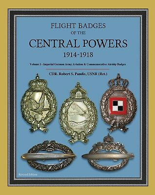 Flight Badges of the Central Powers, 1914-1918, Volume I - German Army.   Sale