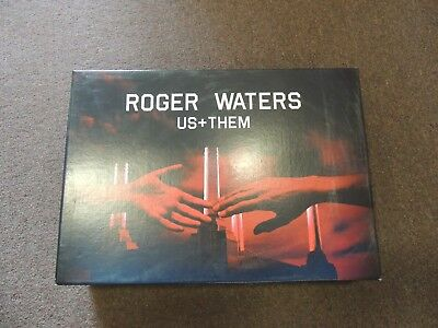 Roger Waters Us + Them Ultimate Deluxe VIP Box Set With Blanket BRAND NEW