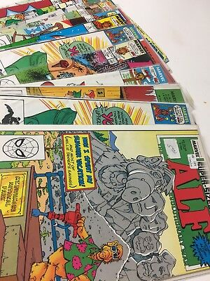 ALF Comics Huge Lot 13 Comic Book Collection Set Run Books Marvel 1988