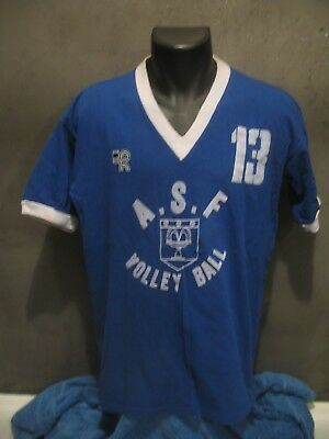 maillot shirt ASF FONTENAY AUX ROSES VOLLEY BALL  VINTAGE maglia jersey trikot