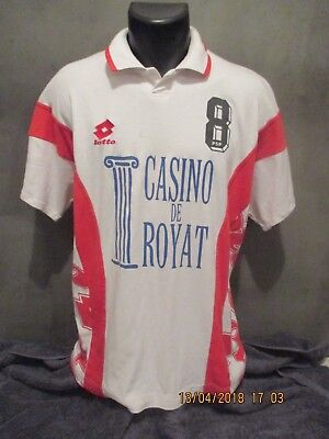 maillot shirt CHAMALIERES VOLLEY BALL porté LOTTO  trikot jersey
